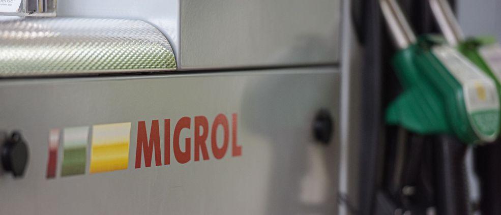Tankstelle Migrol Auto Heller Schötz